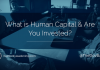 "Dov Baron asks, ""What is Human Capital & Are You Invested?"""
