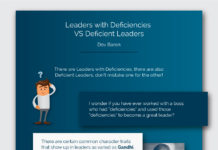 Dov Baron on leaders with deficiencies
