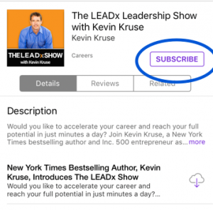 Subscribe LEADx Podcast