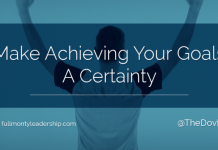 Dov Baron, expert on Authentic Leadership, advises on how Make Achieving Your Goals a Certainty