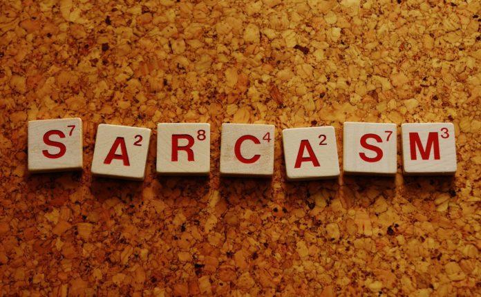 sarcasm, communication