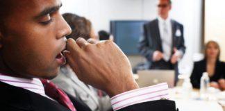 yawning man, audience
