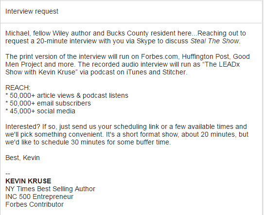 Guest Email For Make A Podcast