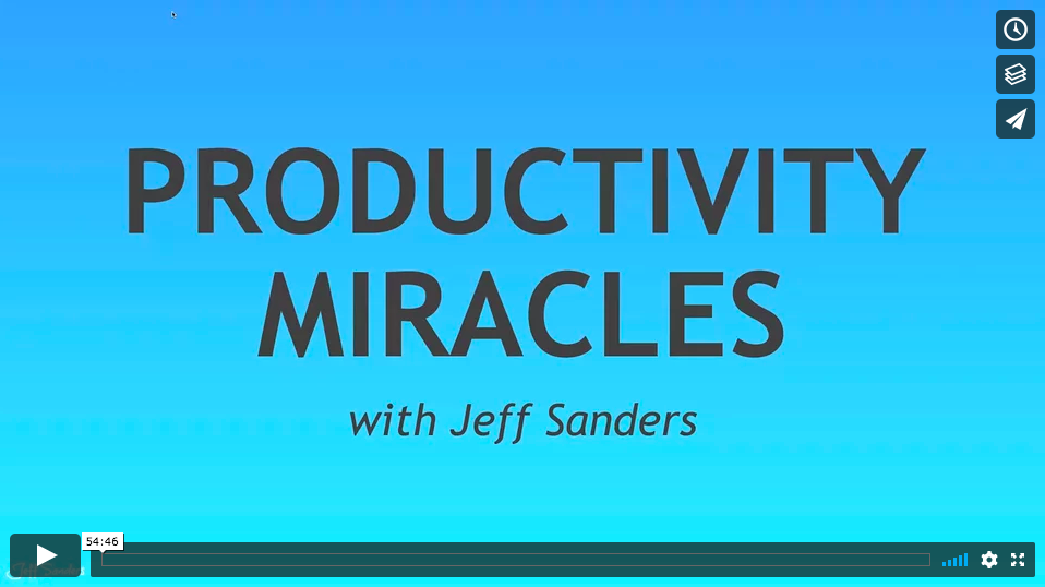 WEBINAR: 5AM Miracle Productivity