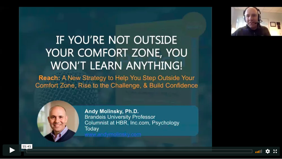 WEBINAR: Learn Beyond Your Comfort Zone