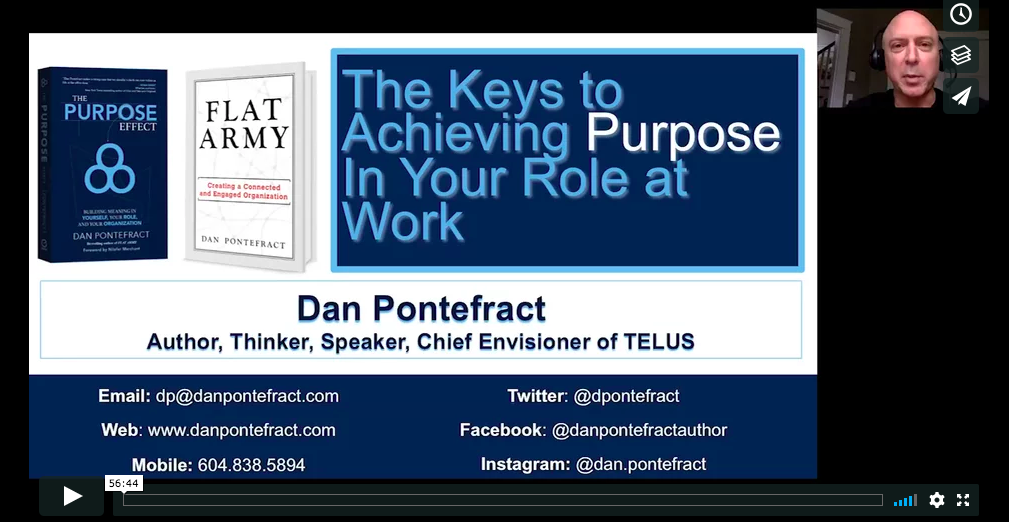 WEBINAR: Find Purpose At Work