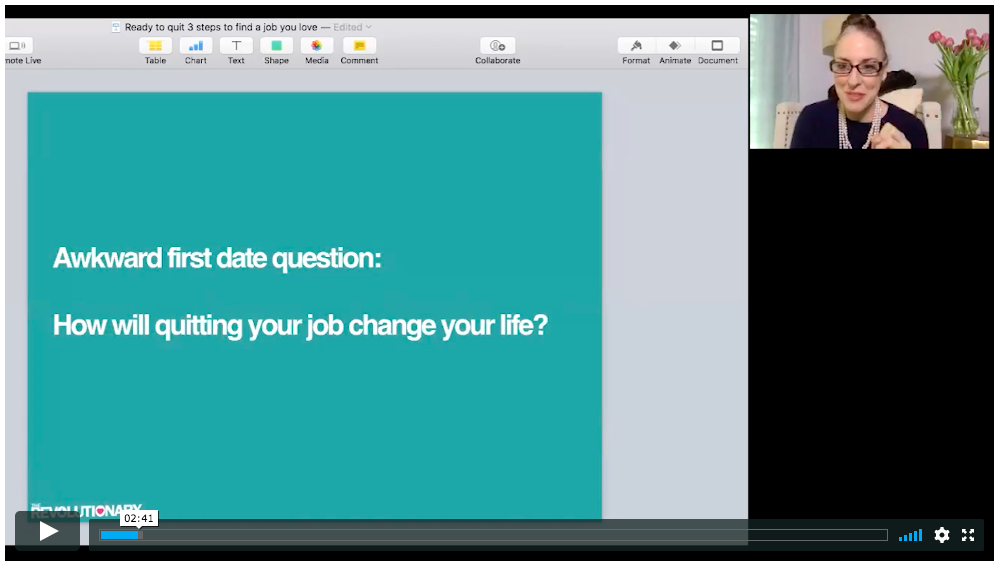 WEBINAR: Find A Job You Love