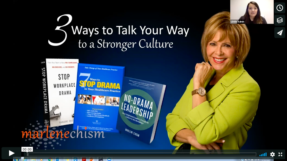 WEBINAR: 3 Ways You Can Talk Your Way To Stronger Culture