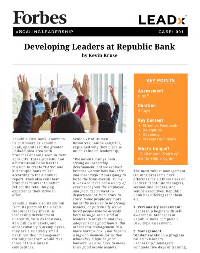 Forbes Republic Bank