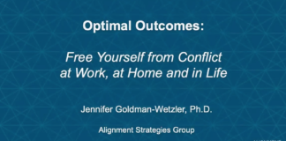 free yourself from conflict jennifer goldman-wetzler