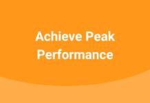 Achieve Peak Performance